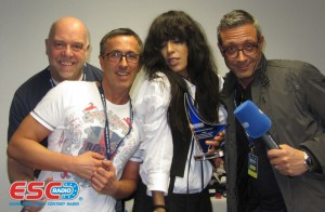 2012 Loreen (SE) Best Song & Best Female Artist