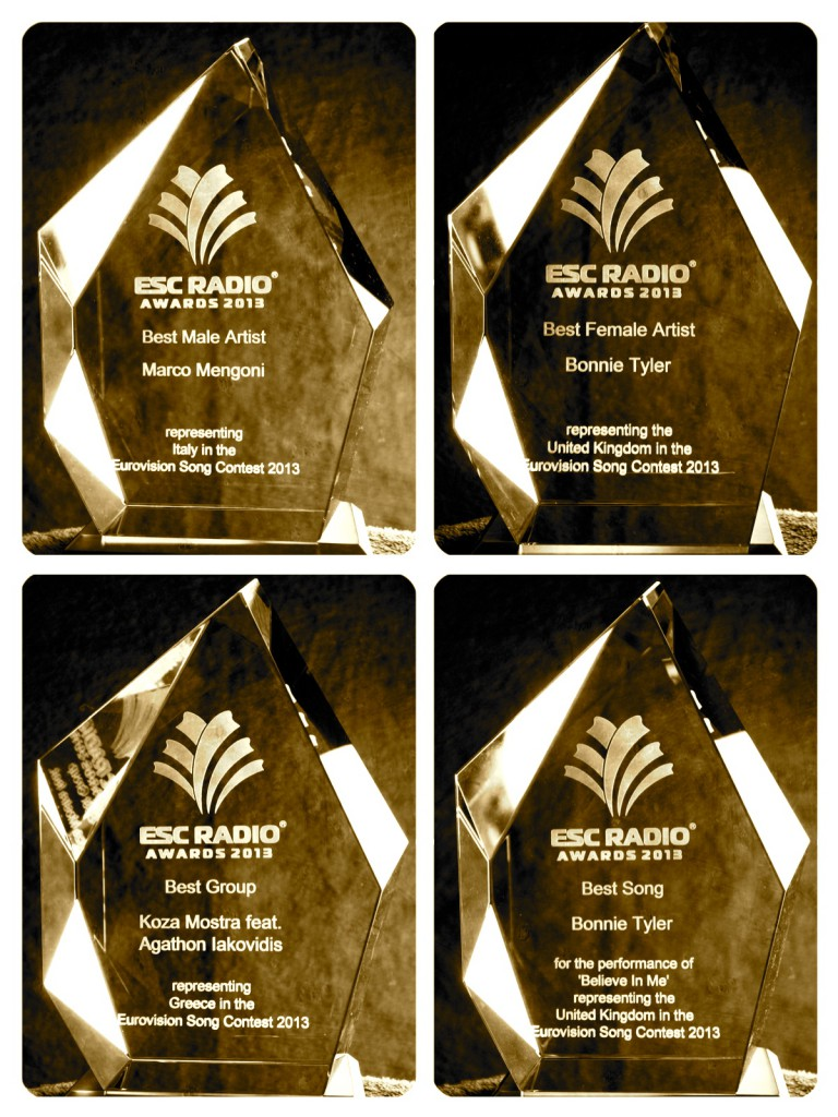 2013_ESC Radio Award trophies_2