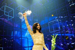 Conchita Wurst ESC Winner 2014 (c) Sander Hesterman (EBU)