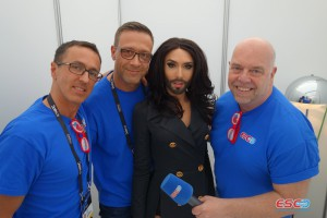 Conchita meets ESC Radio