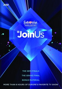 3-disc DVD Eurovision Song Contest 2014
