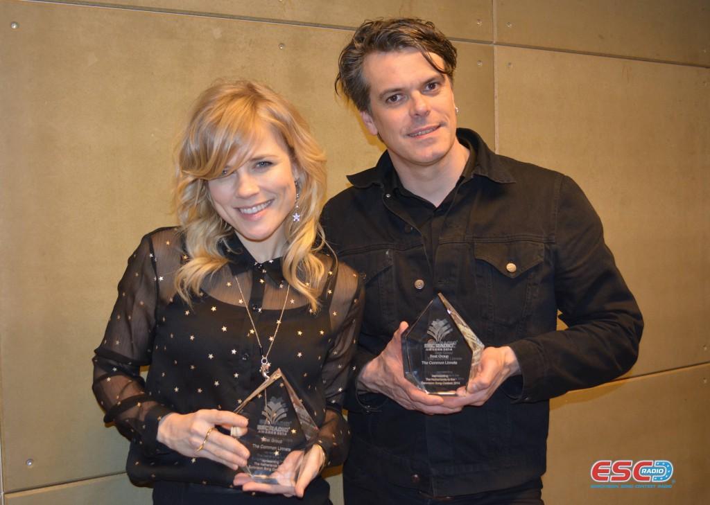 The Common Linnets (NL) ESC Radio 'Best Group' Award 2014