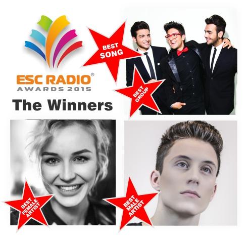 ESC Radio Awards 2015 The Winners