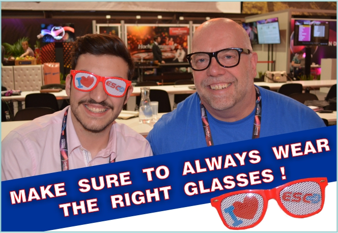 MAKE SURE TO ALWAYS WEAR THE RIGHT GLASSES
