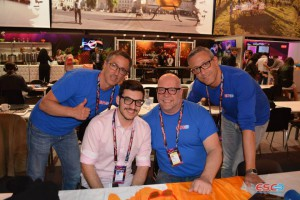 John Karayiannis (Cyprus) with ESC Radio team