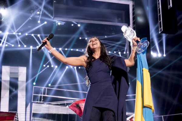 Jamala wins ESC 2016; photo © Andres Putting (EBU)