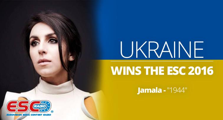 Jamala (Ukraine) - Eurovision winner 2016
