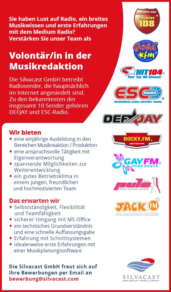 anzeige-silvacast-job-radio