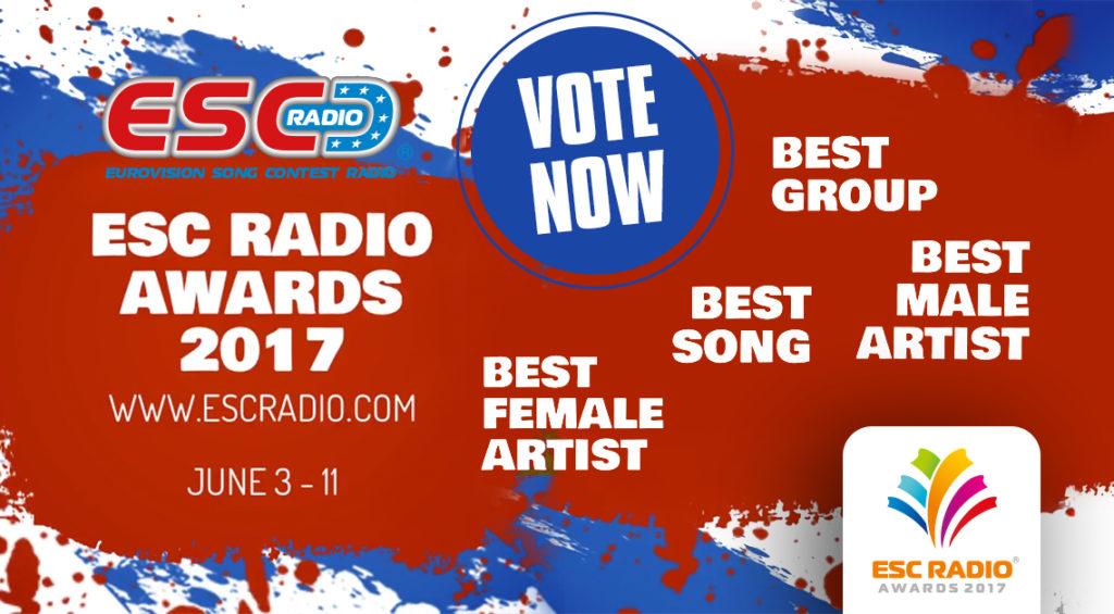 ESC Radio Awards 2017 Jun 3-11 VOTE NOW