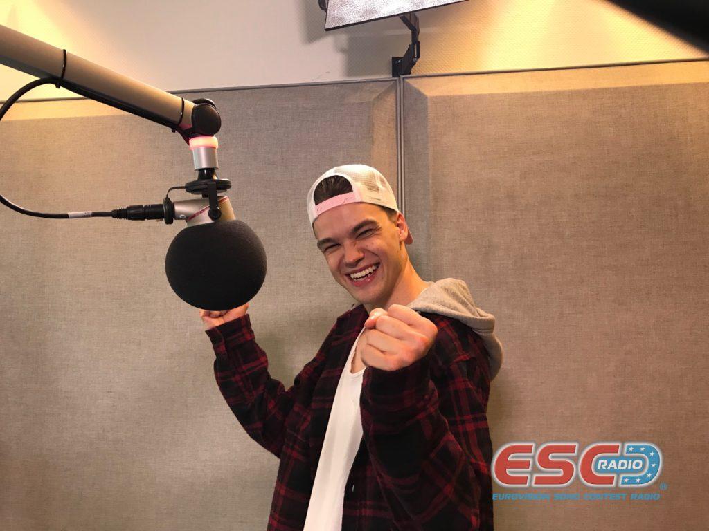 Mikolas Josef (Czech Republic) receives ESC Radio awards